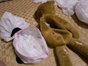 ぬいぐるみ洗濯