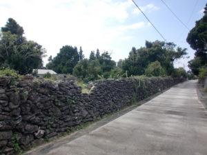 伊是名島の石垣