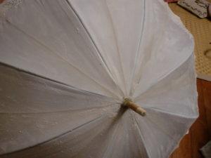 水色の日傘